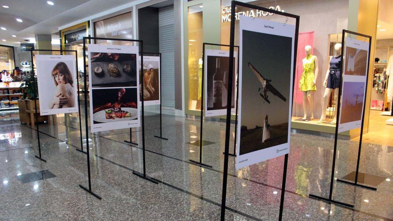 Fotógrafos participam de exposição e dão dicas de fotografia 