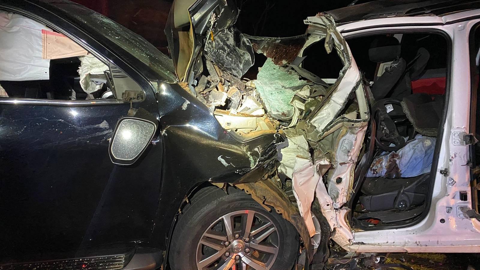 Duas pessoas morrem em colisão frontal na BR-369 em Corbélia
