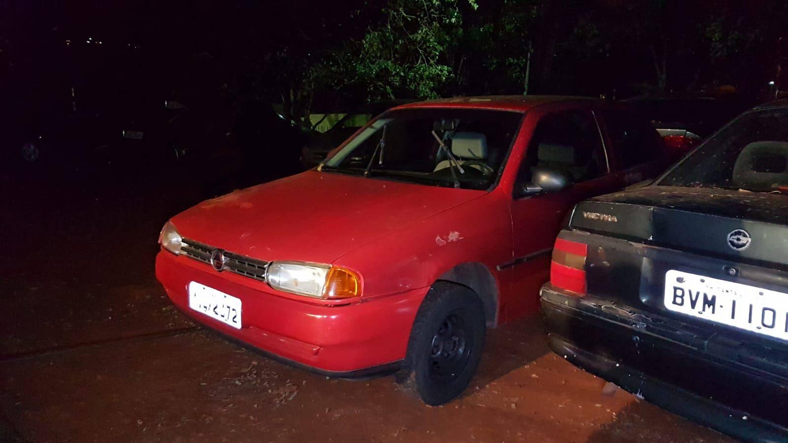 Gol furtado na Rua Riachuelo é recuperado pela Polícia Militar no Bairro Interlagos