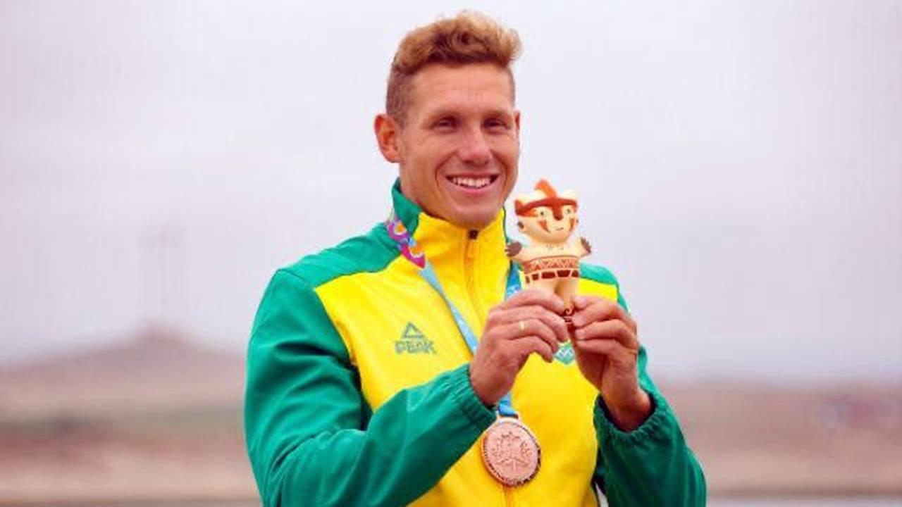 Canoísta cascavelense Vagner Souta, representará o Brasil no K1-1000m nas Olimpíadas de Tóquio