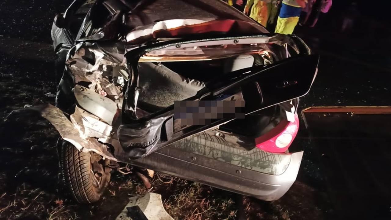 Mulher morre em grave colisão de trânsito na BR-369 em Ubiratã