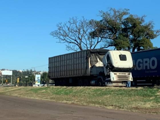 Caminhoneiros sofre novamente com o congelamento de diesel em Cascavel