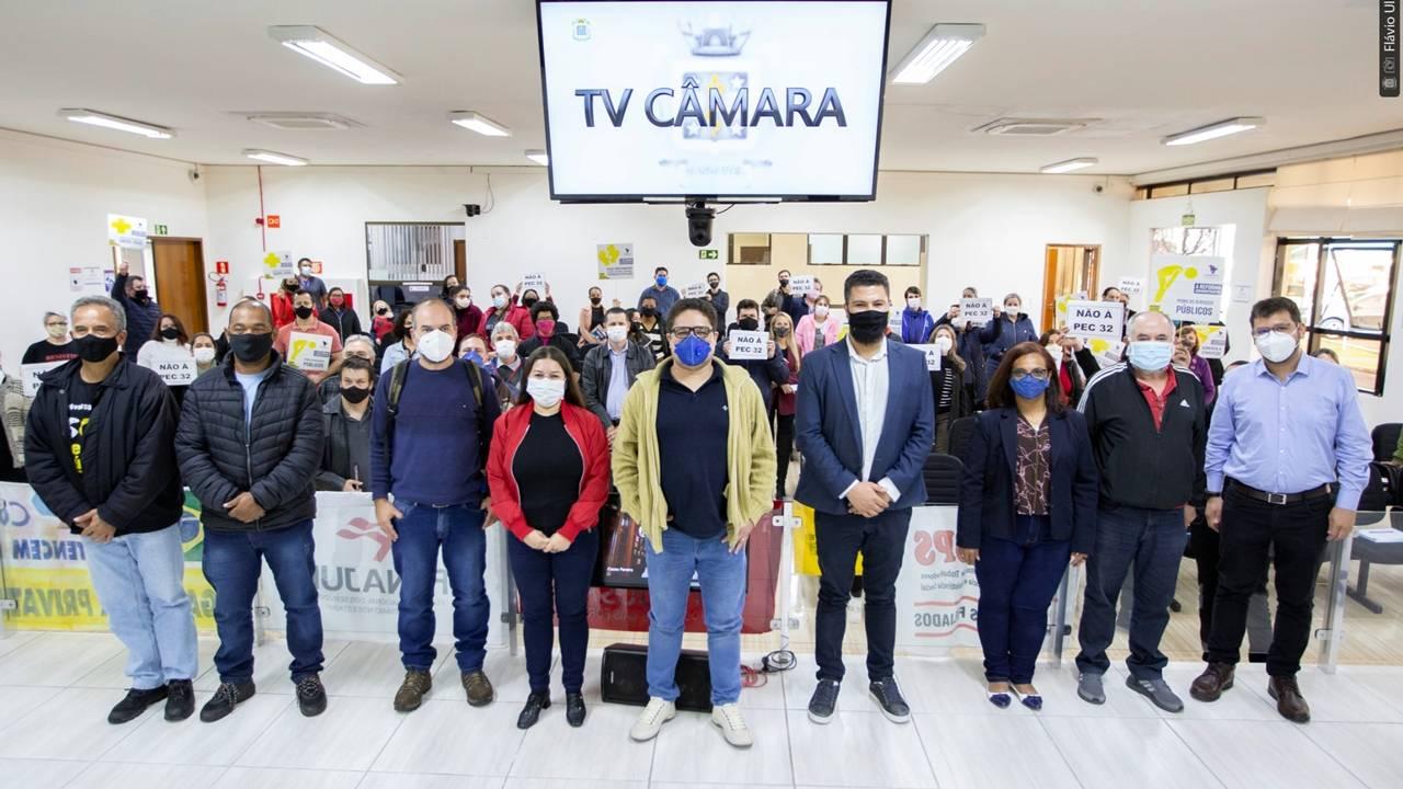 Vereadores de Cascavel debatem impacto da Reforma Administrativa