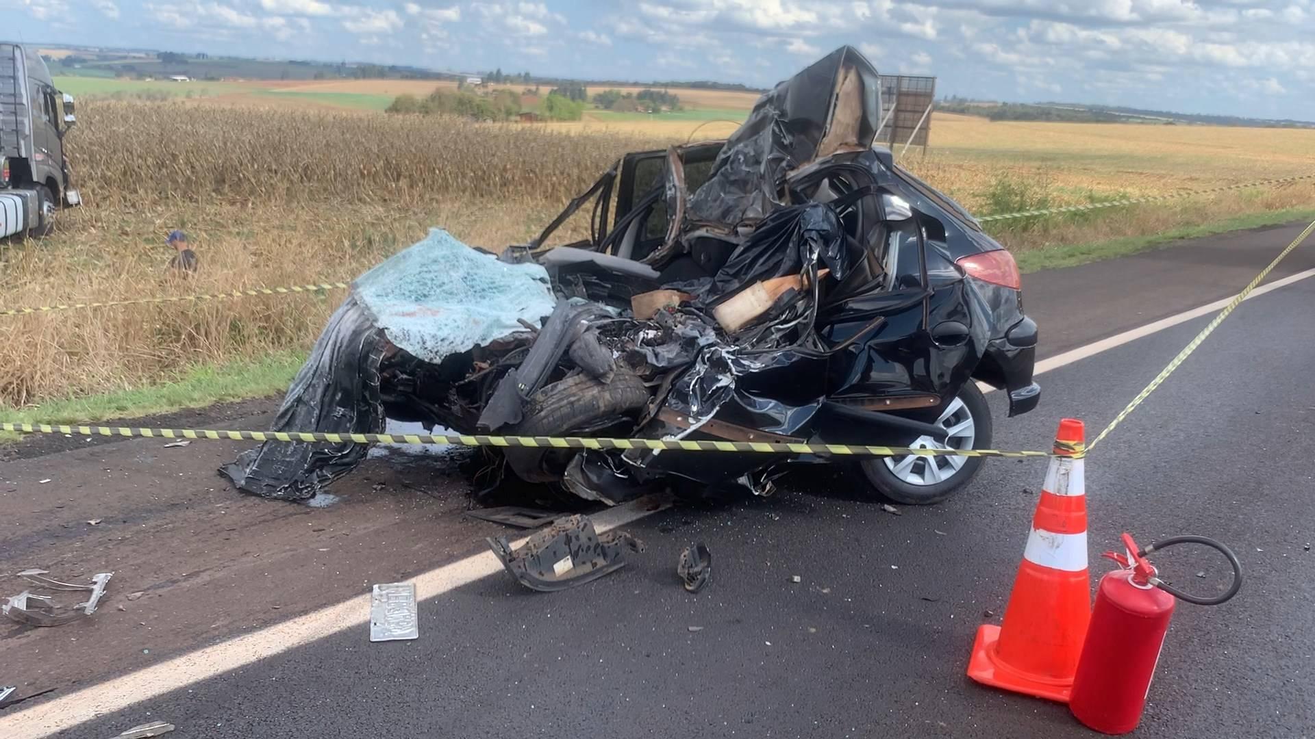 Identificada vítima fatal de colisão frontal na BR-369 em Cascavel