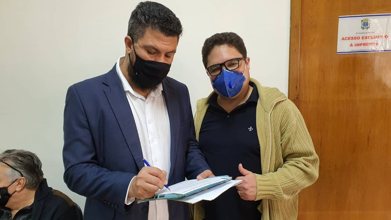 Emerson Vilanova e Edson Souza: UPA Brasília precisa ser ampliada