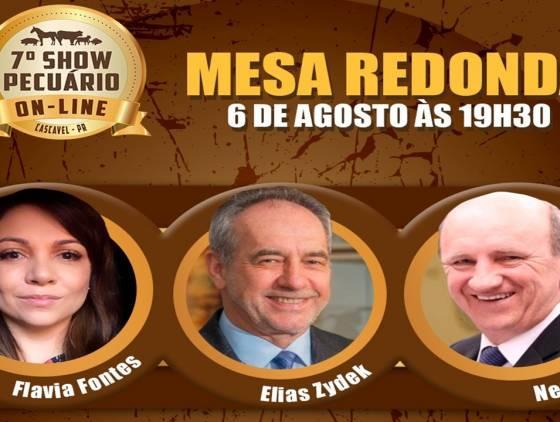 Show Pecuário 2021: Mesa redonda debaterá novos alimentos