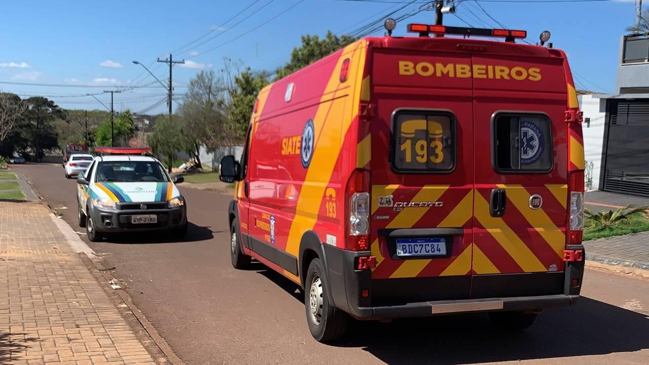 Homem de 55 anos fica ferido após sofrer queda de bicicleta na Rua Rio Grande do Norte