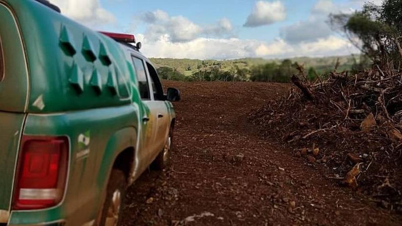 Polícia Ambiental aplica mais de R$400mil em multas por crimes ambientais em dois dias da operação
