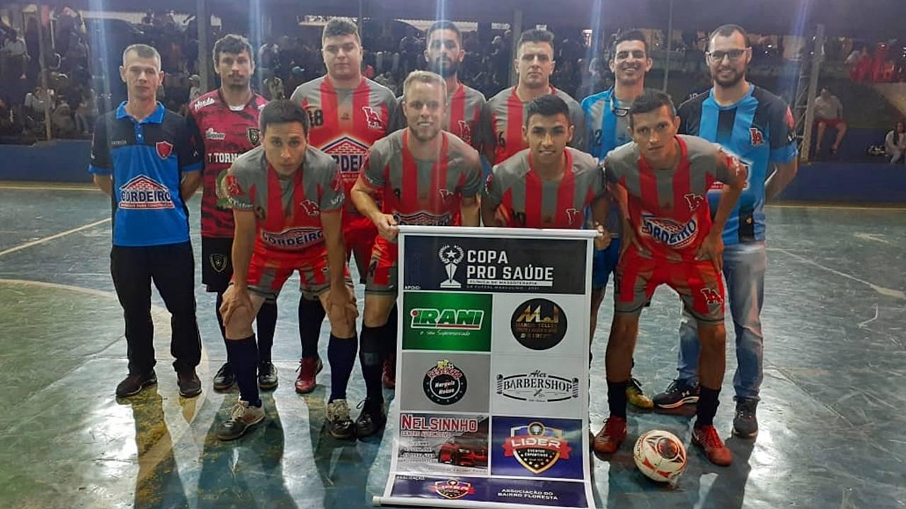 L.A Cordeiro e ZZ Lanches se enfrentam na grande final da 1ª Copa Pro Saúde de Futsal