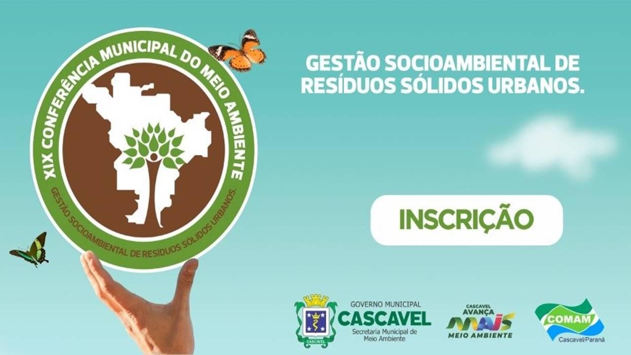 Cascavel se prepara para 19º Conferência e Ações de Conscientização da importância em reciclar