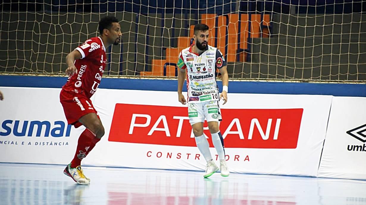 Cascavel Futsal é superado pelo Atlântico na Liga Nacional