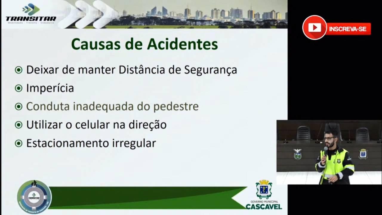 Transitar dá curso online na Câmara sobre nova legislação brasileira de trânsito