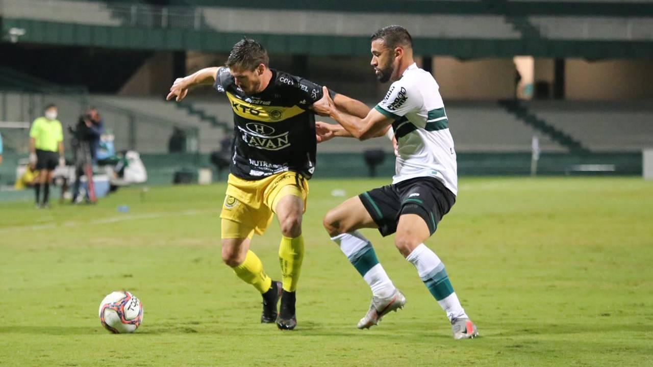 Cascavel vence Coritiba por 3x2 fora de casa e mantém invencibilidade no Campeonato Paranaense 2021
