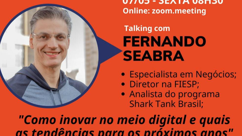 Analista do Shark Tank participa de evento do Núcleo de Negócios Digitais