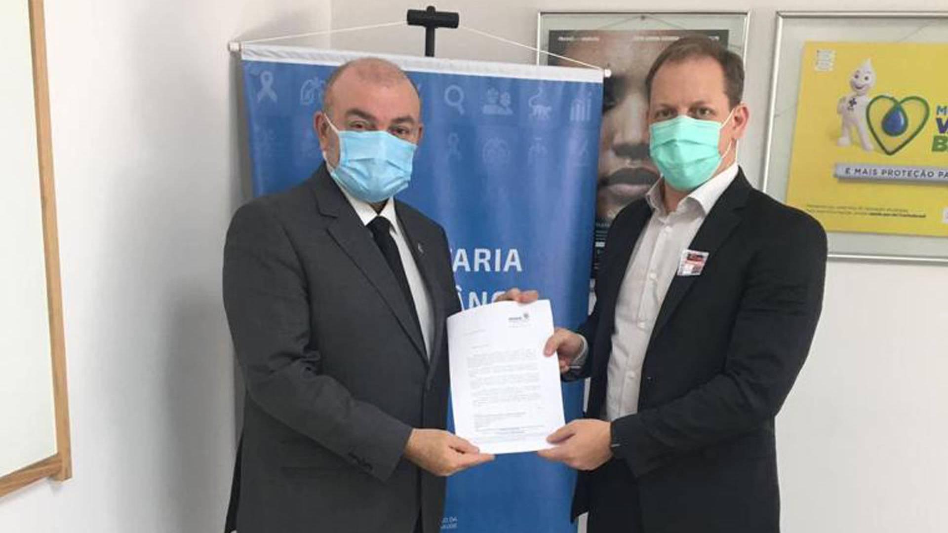 Paraná reitera pedido de mais vacinas aos trabalhadores da saúde ao governo federal