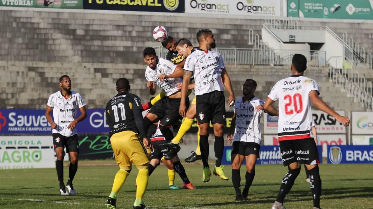 FC Cascavel estreia com empate diante do Joinville no Campeonato Brasileiro da Série D