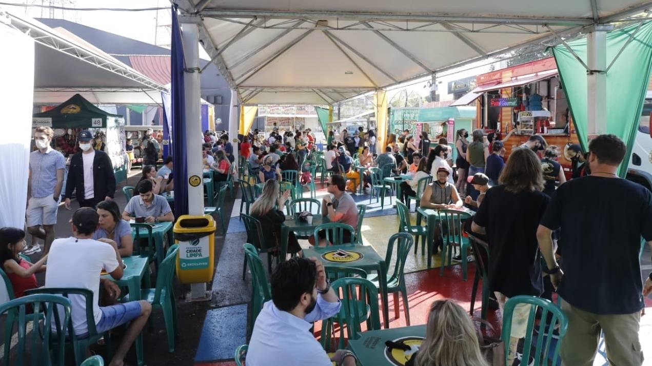 Feira do Teatro teve atividades alusivas à Semana da Pátria