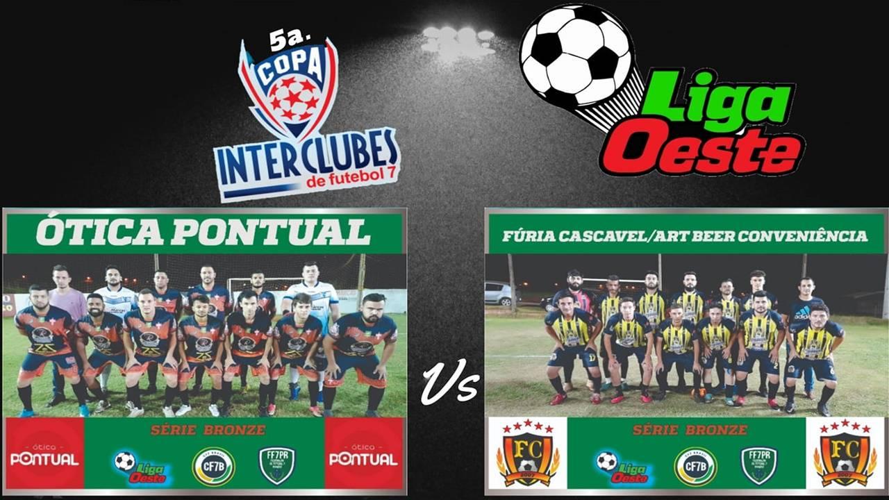 Acontece nesta quarta (10), a grande final da 5ª Copa Interclubes de Futebol 7 - Serie Bronze