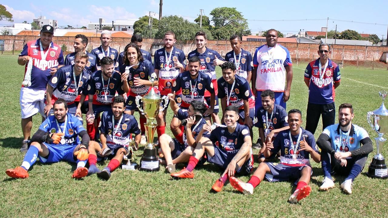 D'Napolli Sub 23 vence D'Napolli Livre e é campeão da 1ª Taça Amadora de Futebol