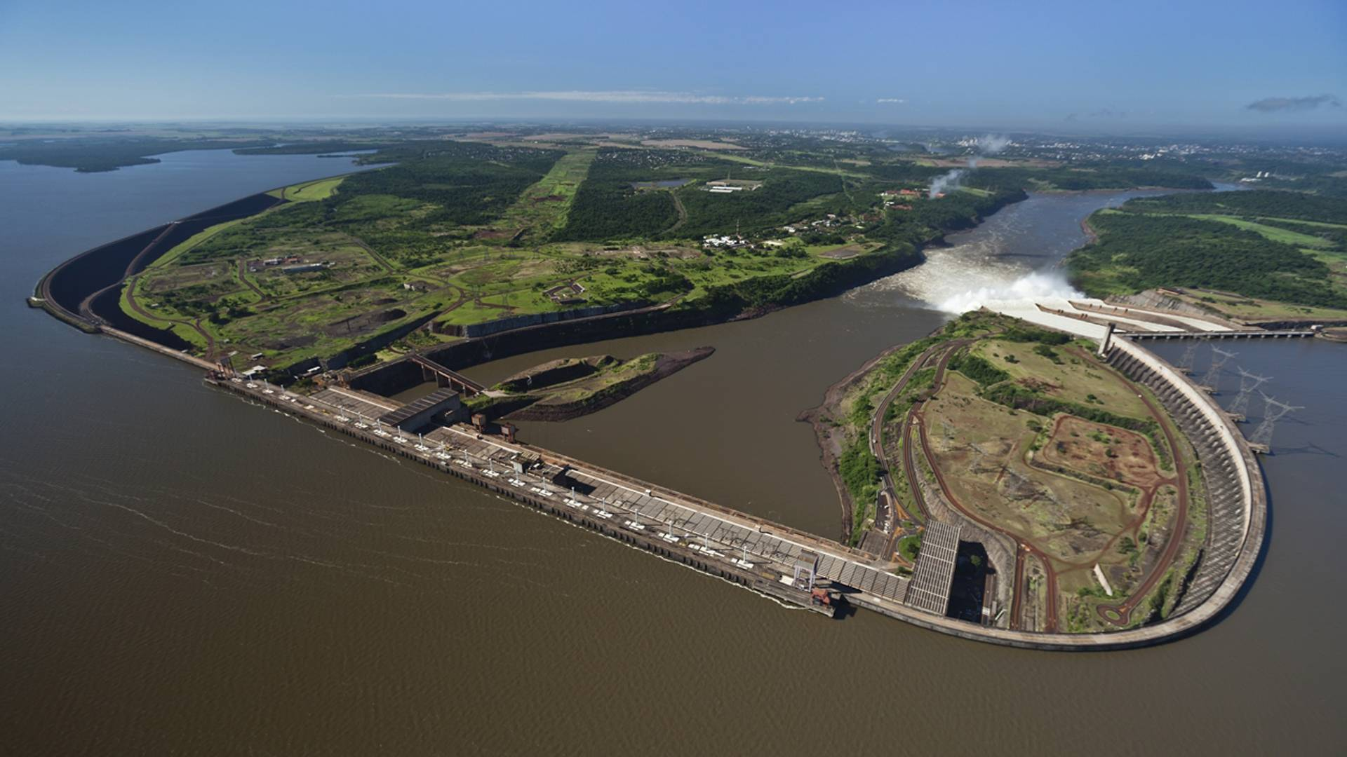 Mídia espontânea de Itaipu cresce 35% em relação a 2019. Marca tem mais de 90% de aceitação