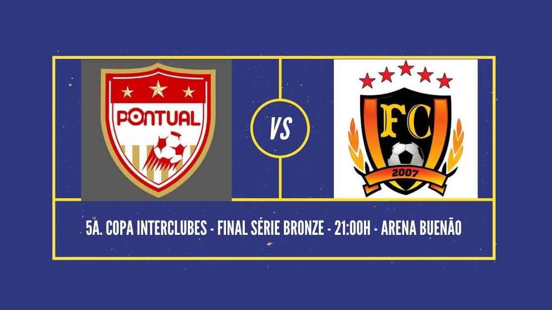 Interclubes: Ótica Pontual enfrenta Fúria Cascavel nesta quarta na grande final da série bronze