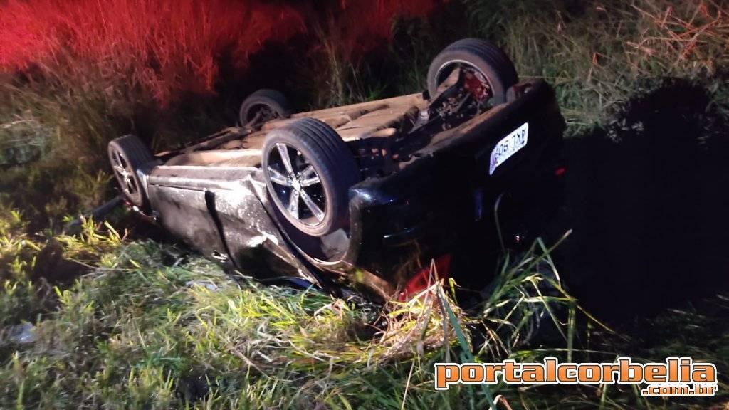 Morre 4ª vítima de grave acidente de trânsito na PR-573