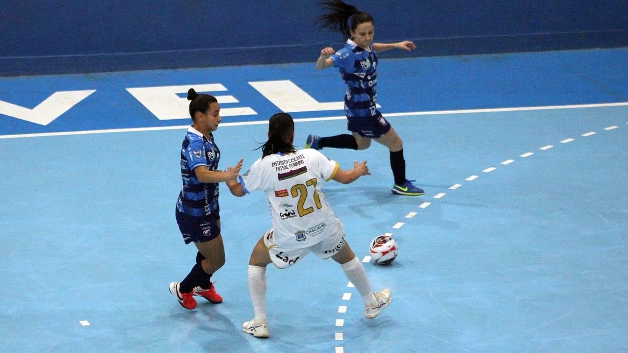 Paranaense: Unidep Futsal goleia Instituto Cascavel Feminino por 11 a 0