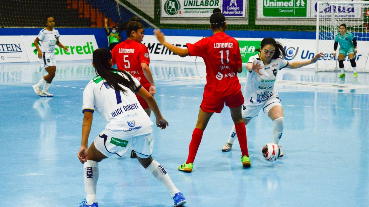 Stein Cascavel Futsal vence o Londrina pelo Campeonato Paranaense Série Ouro