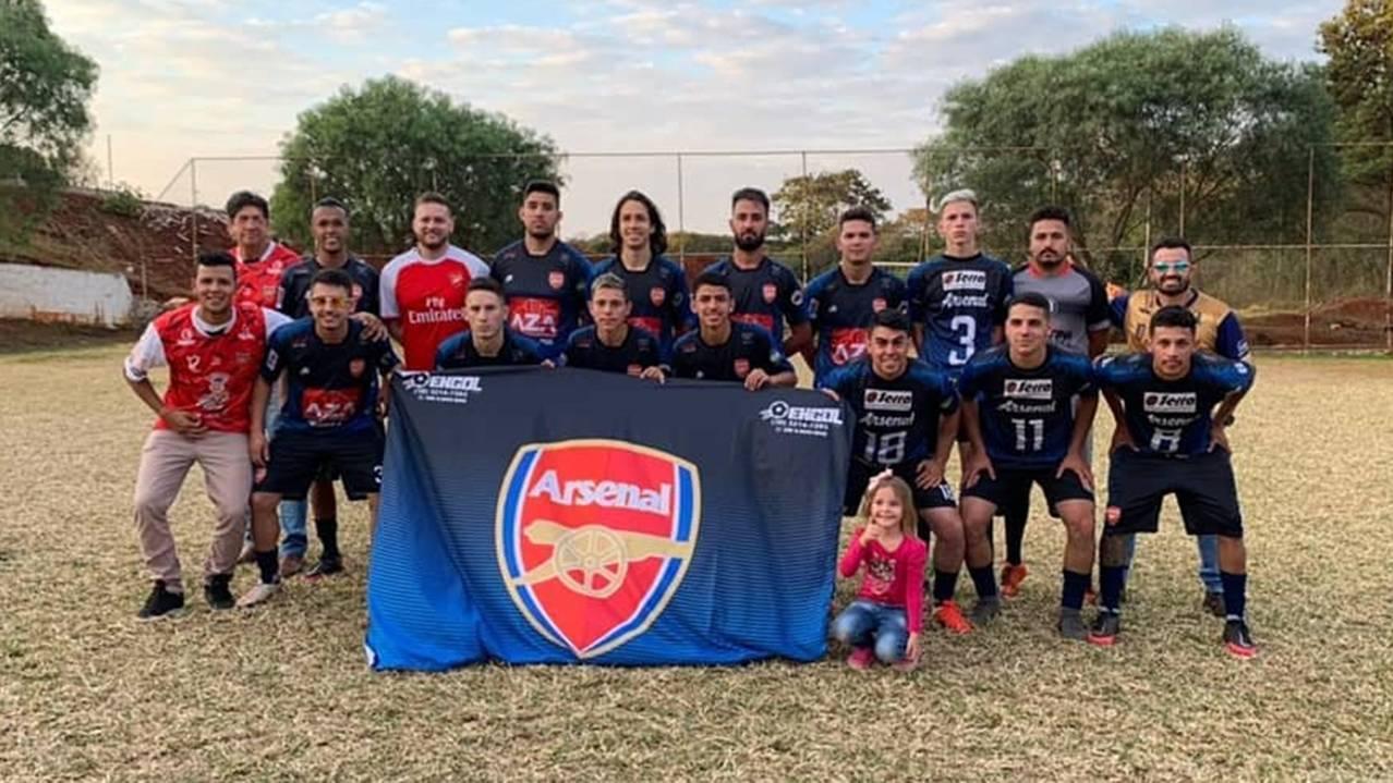 Arsenal vence Metalúrgica Chaves e é o campeão da Copa Norte de Futebol Suíço