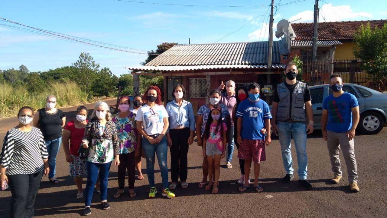 Vereadora pede ao Território Cidadão para instalar horta comunitária no Esmeralda