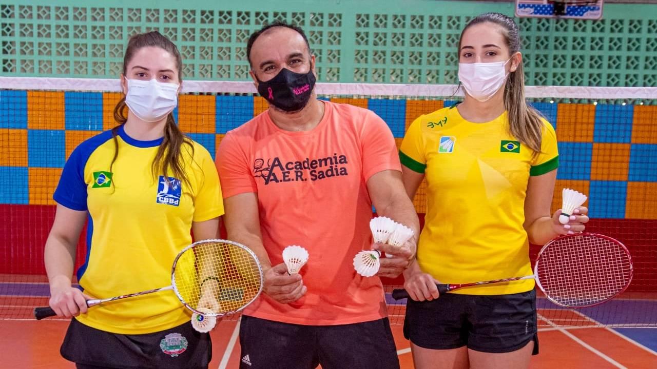 Duas atletas toledanas de badminton são convocadas para o Pan-Americano Júnior