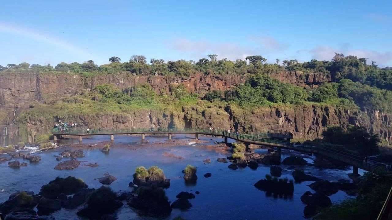 Estiagem afeta bacias dos rios Paraná e Iguaçu