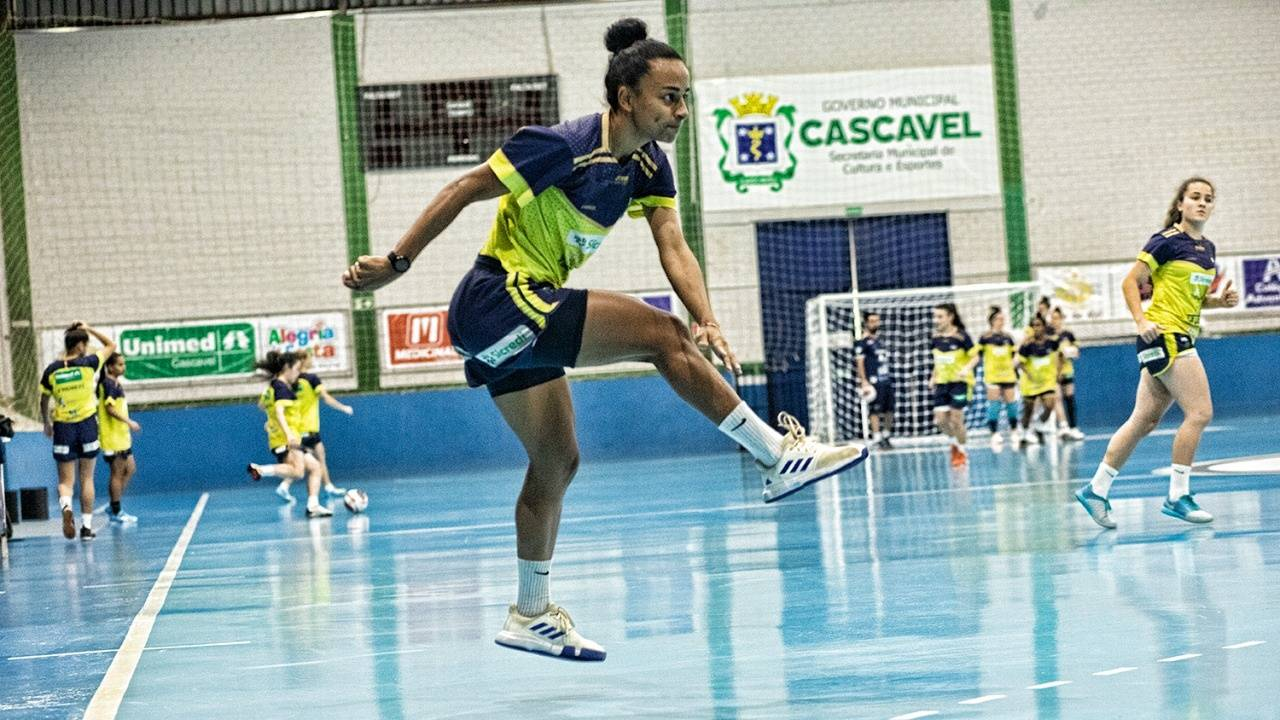 Stein Cascavel Futsal inicia a semana focado no Novo Futsal Feminino Brasil