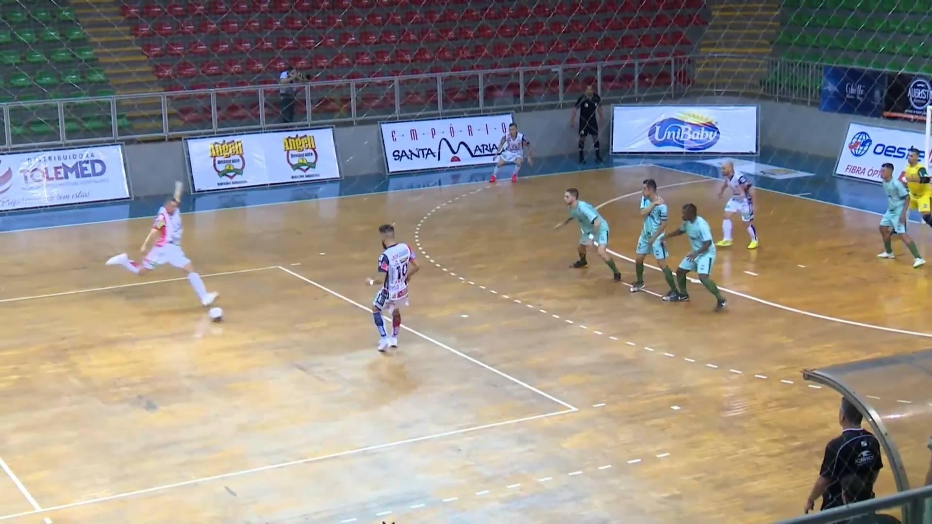 Cascavel Futsal vence o Toledo por 8 a 0 pela Série Ouro do Paranaense