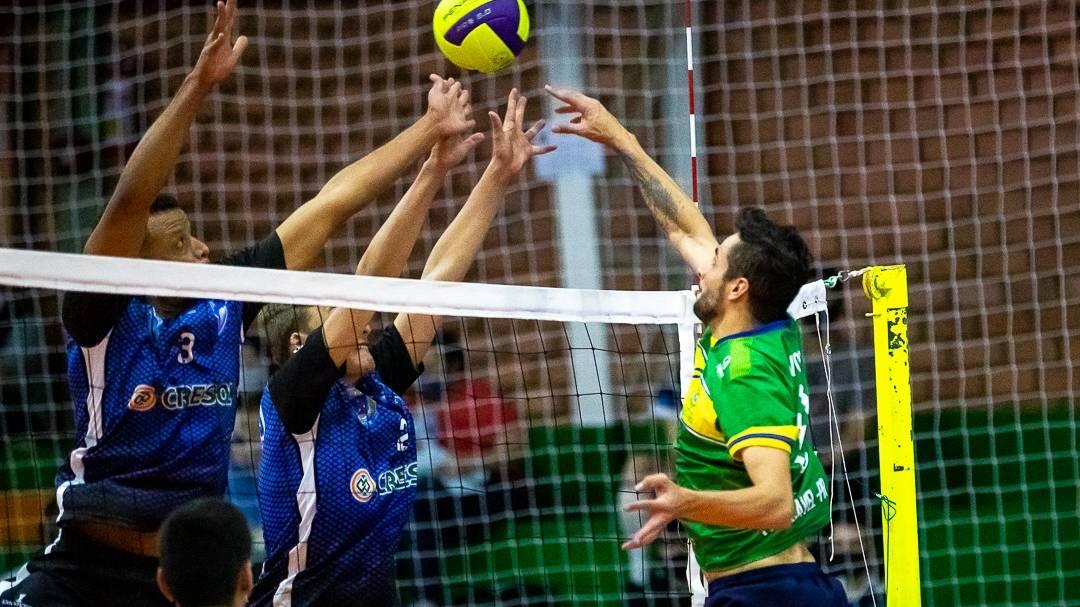 Equipes mandantes dominaram no Campeonato Paranaense de Voleibol Masculino