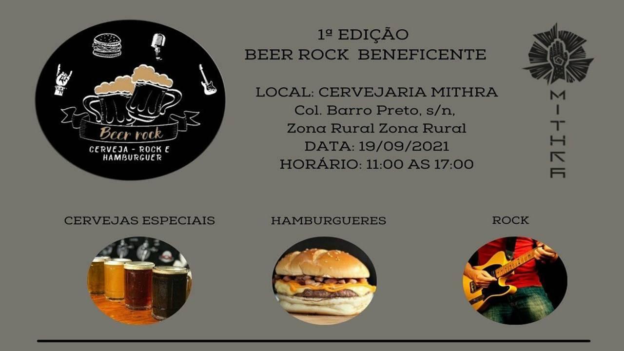 Núcleo de Cervejas Especiais promove o Beer Rock Beneficente