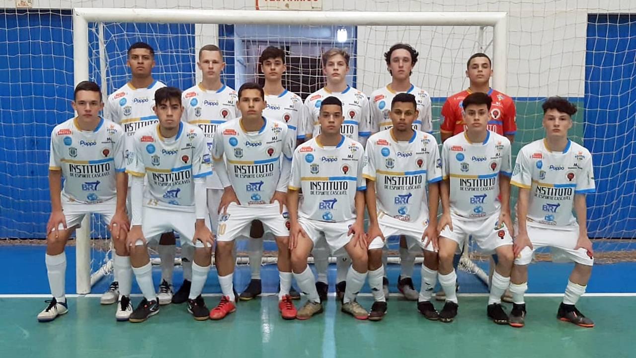 I.E Cascavel goleia São Miguel Futsal por 11 a 1 pelo Paranaense Sub16