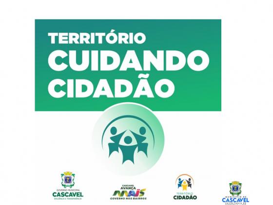 Território cidadão realiza ação no bairro Cascavel Velho