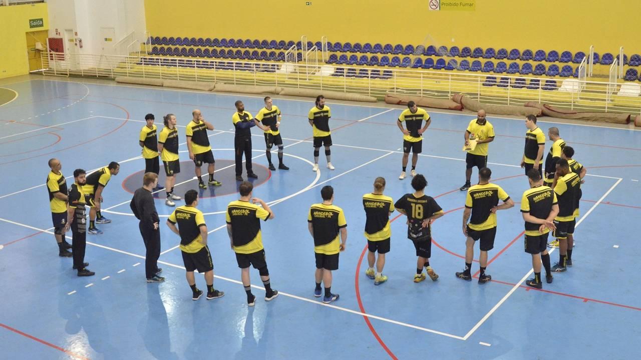 Cascavel Handebol Masculino realiza fase de treinamentos para 2021