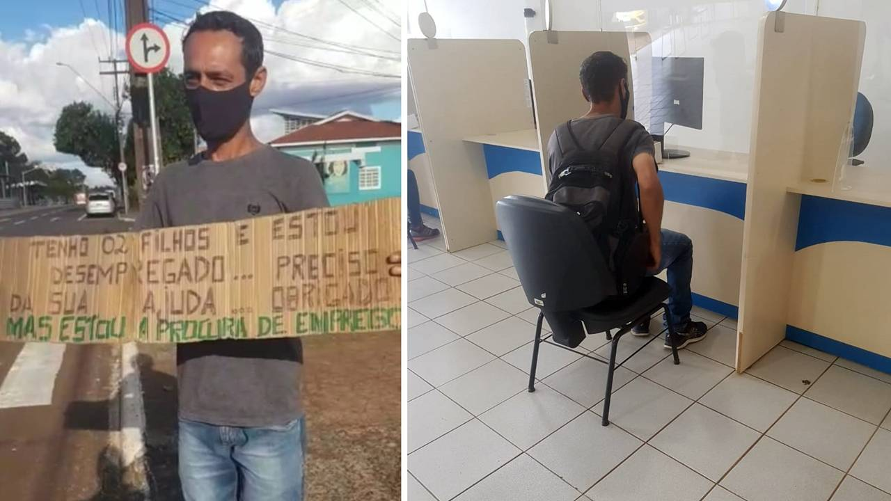 Polícia Militar auxilia cidadão cascavelense desempregado a conseguir entrevista de emprego