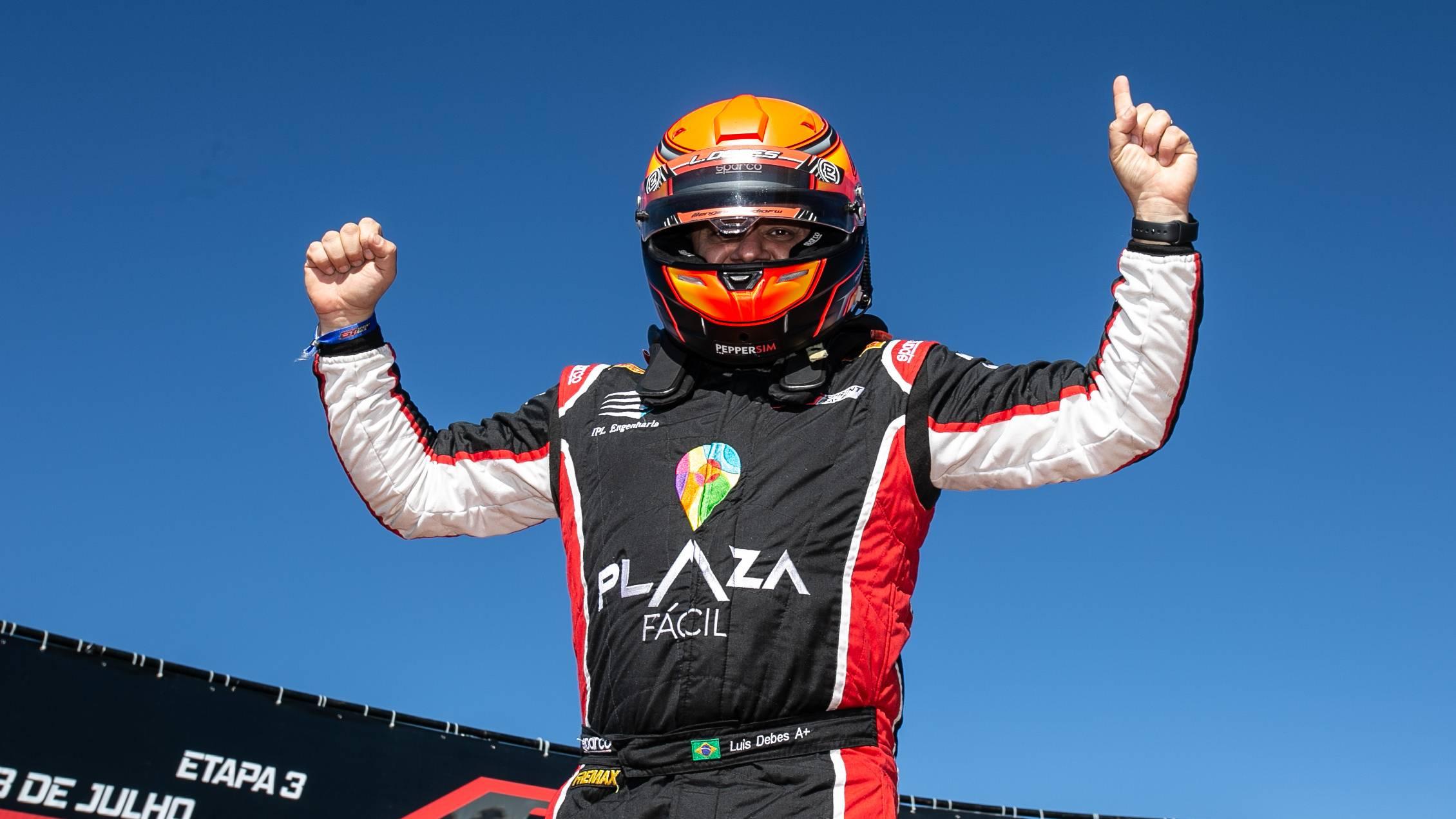 Luis Debes encosta na liderança da classe AM na GT Sprint Race 2021