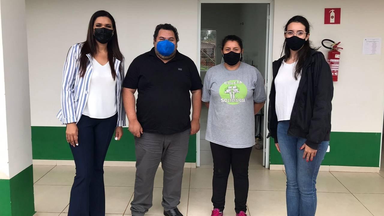 Equipe de Edson Souza firma parceria para assessoria jurídica aos Ecopontos