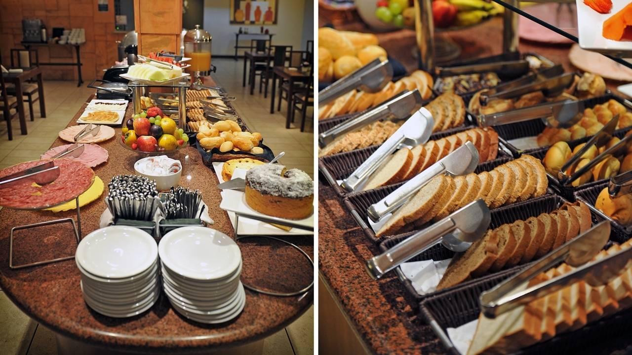 Aniversariante do dia ganha o café da manhã no Deville Express Cascavel