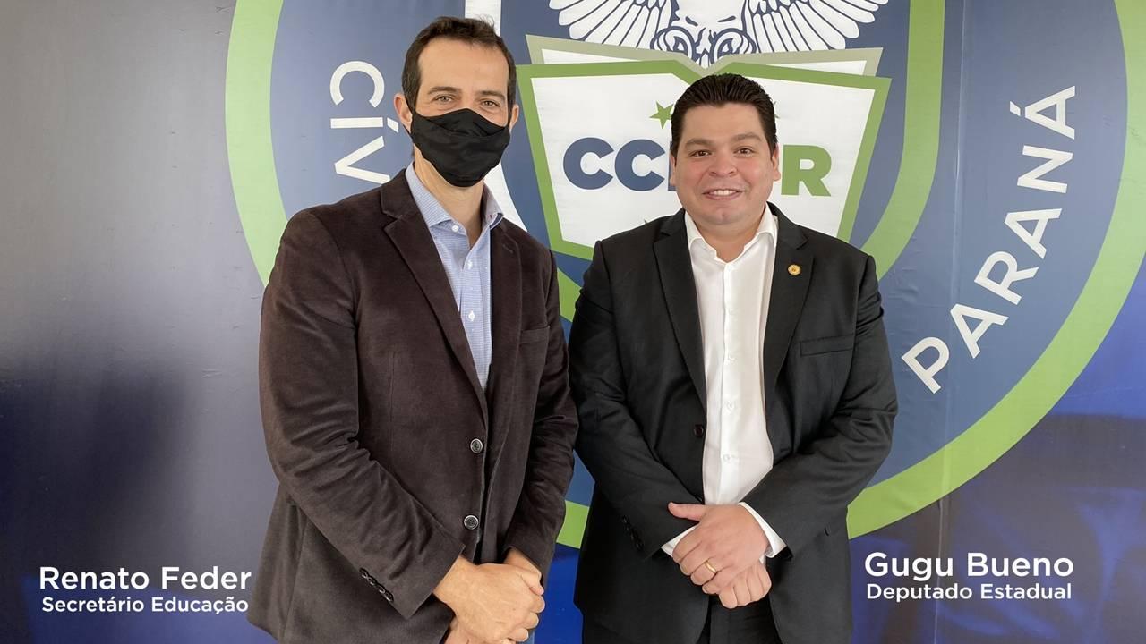 Gugu Bueno anuncia licitação de R$ 4 milhões em obras nos colégios estaduais de Cascavel