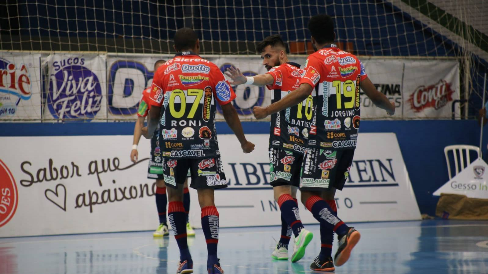 Cascavel Futsal começa a sua trajetória na Liga Futsal Paraná 2021