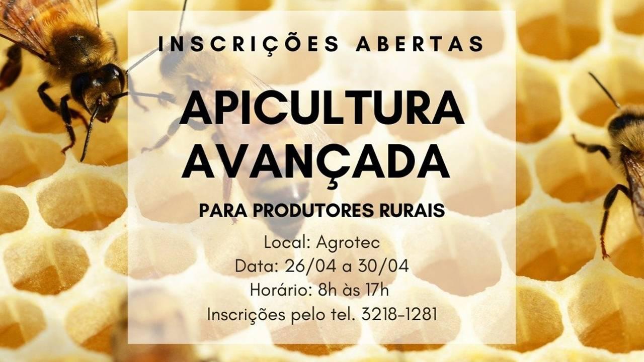 Agrotec está com inscrições abertas para o curso de Apicultura Avançada