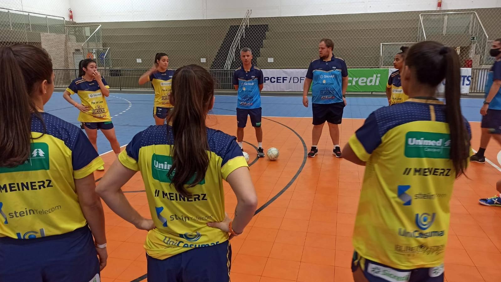 ADEF Brasília e Stein Cascavel Futsal jogam nessa quinta (22) pelo NFFB