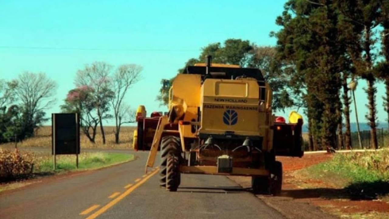 Safra Verão: Condutores devem redobrar a atenção nas estradas em época de colheita e plantio