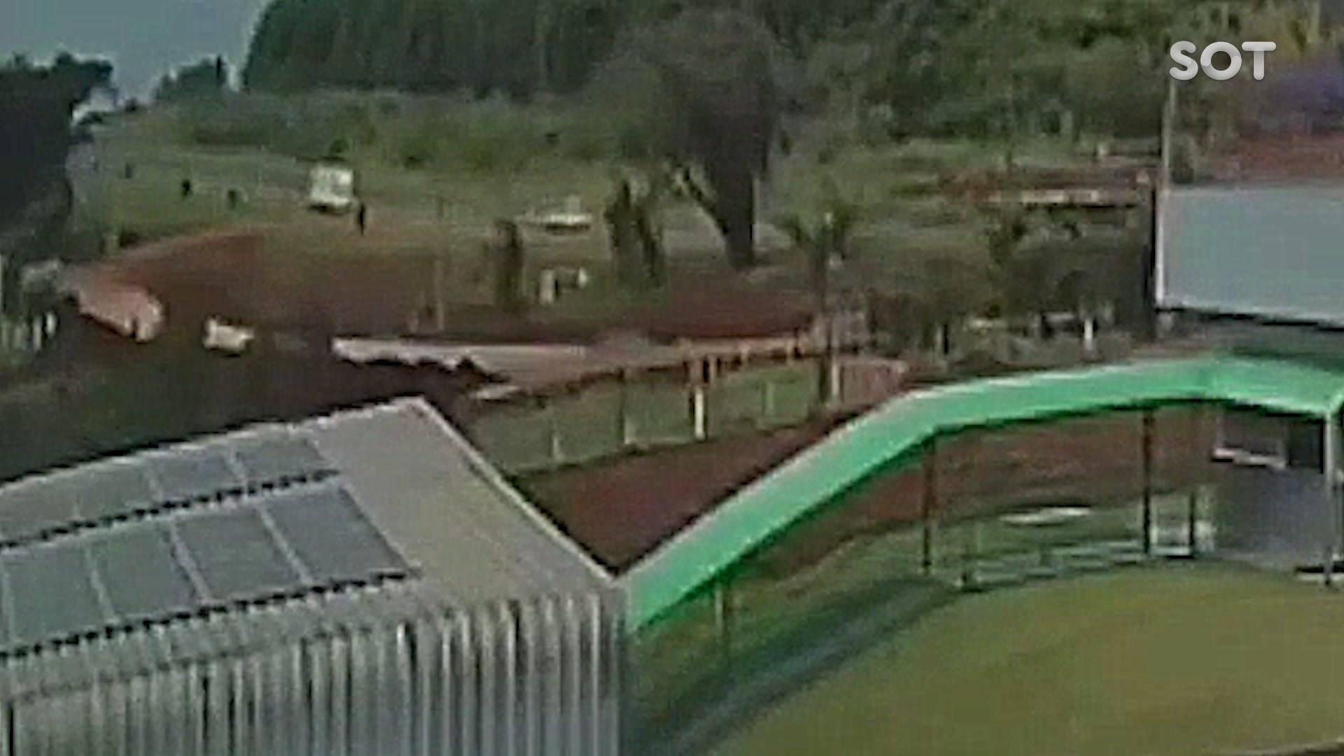Câmera de segurança registra acidente fatal na BR-277 em Santa Tereza do Oeste