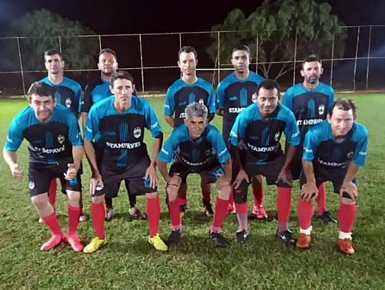Tornovel goleia Ju Construtora na abertura da Copa Asepar de Futebol Veteranos 40